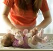 Cuidados del cordón umbilical del bebé