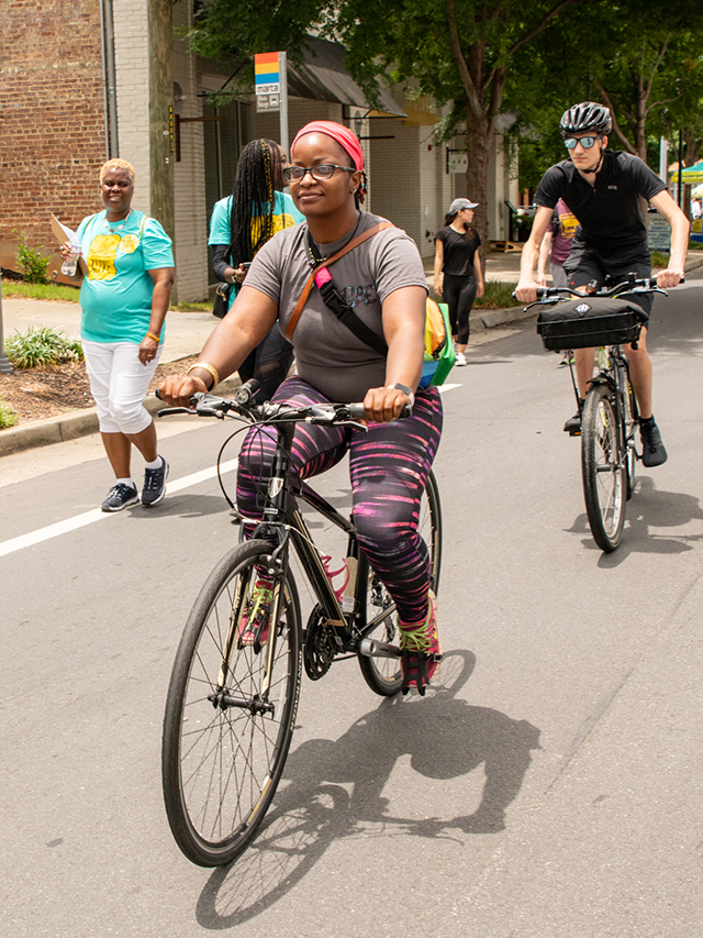 Atlanta Streets Alive, one of the Atlanta Bicycle Coalition's signature events
