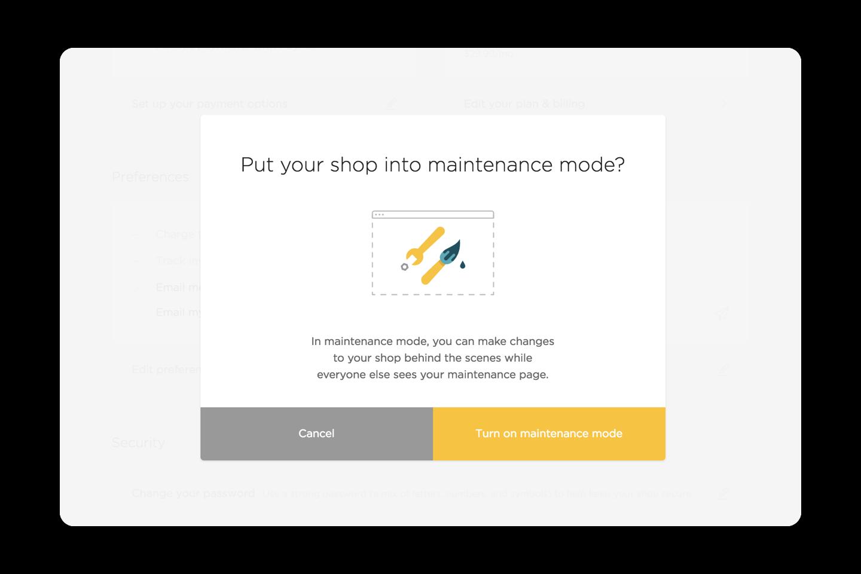 desktop-maintenance-mode
