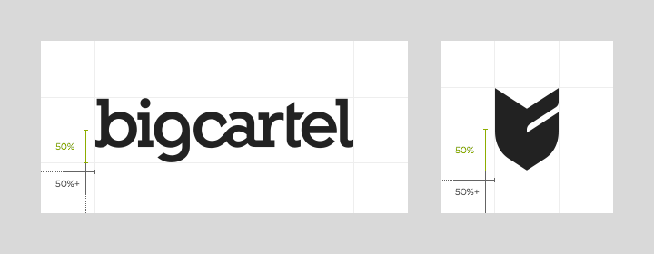 Big Cartel brand space