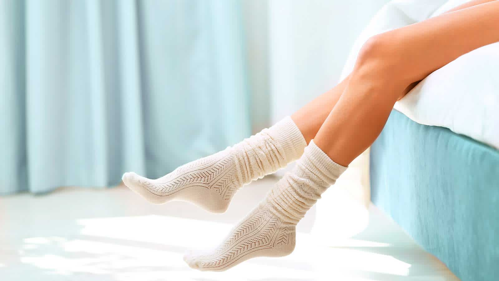 Women's Legs with Socks