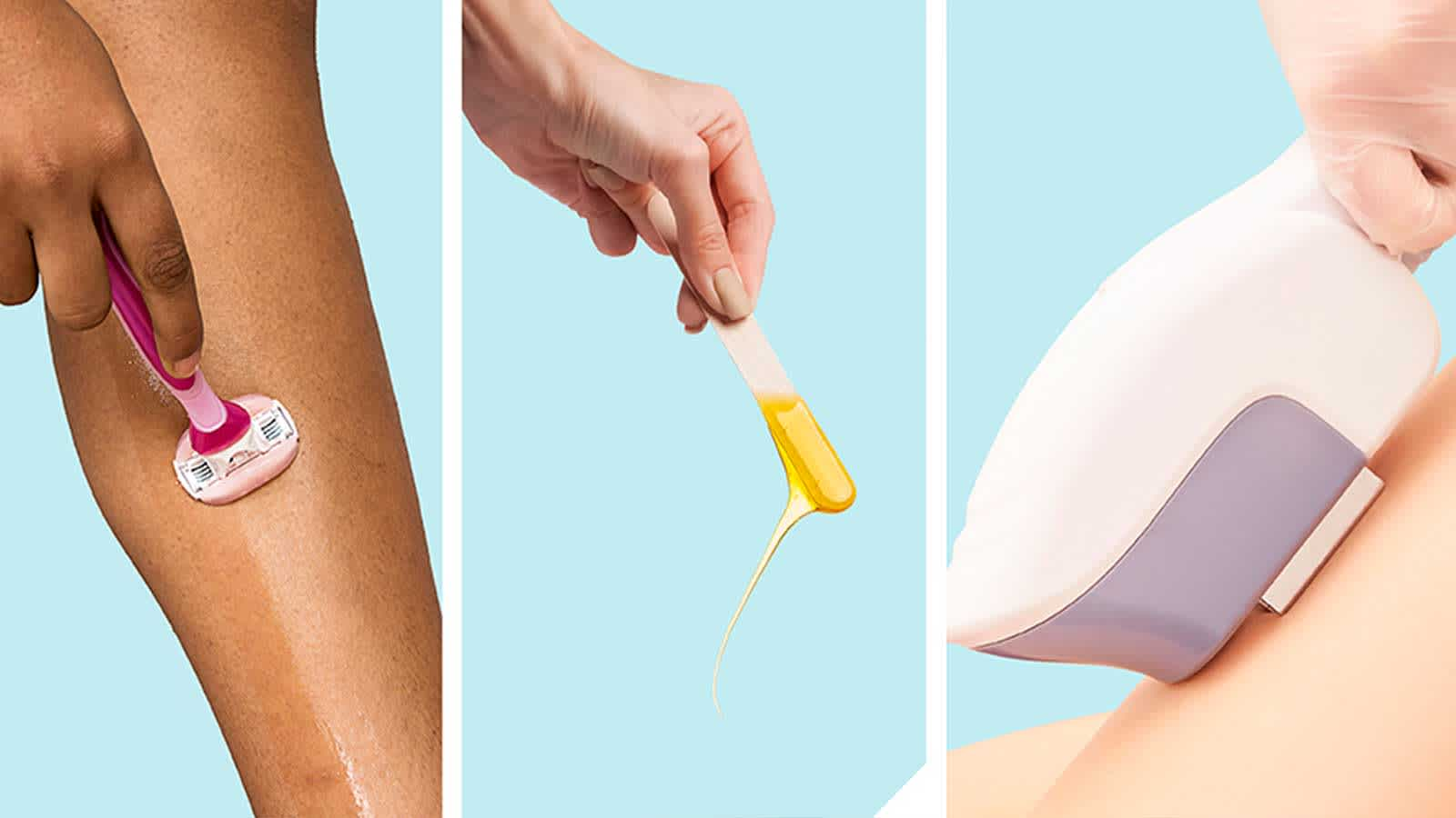 Different Hair Removal Methods