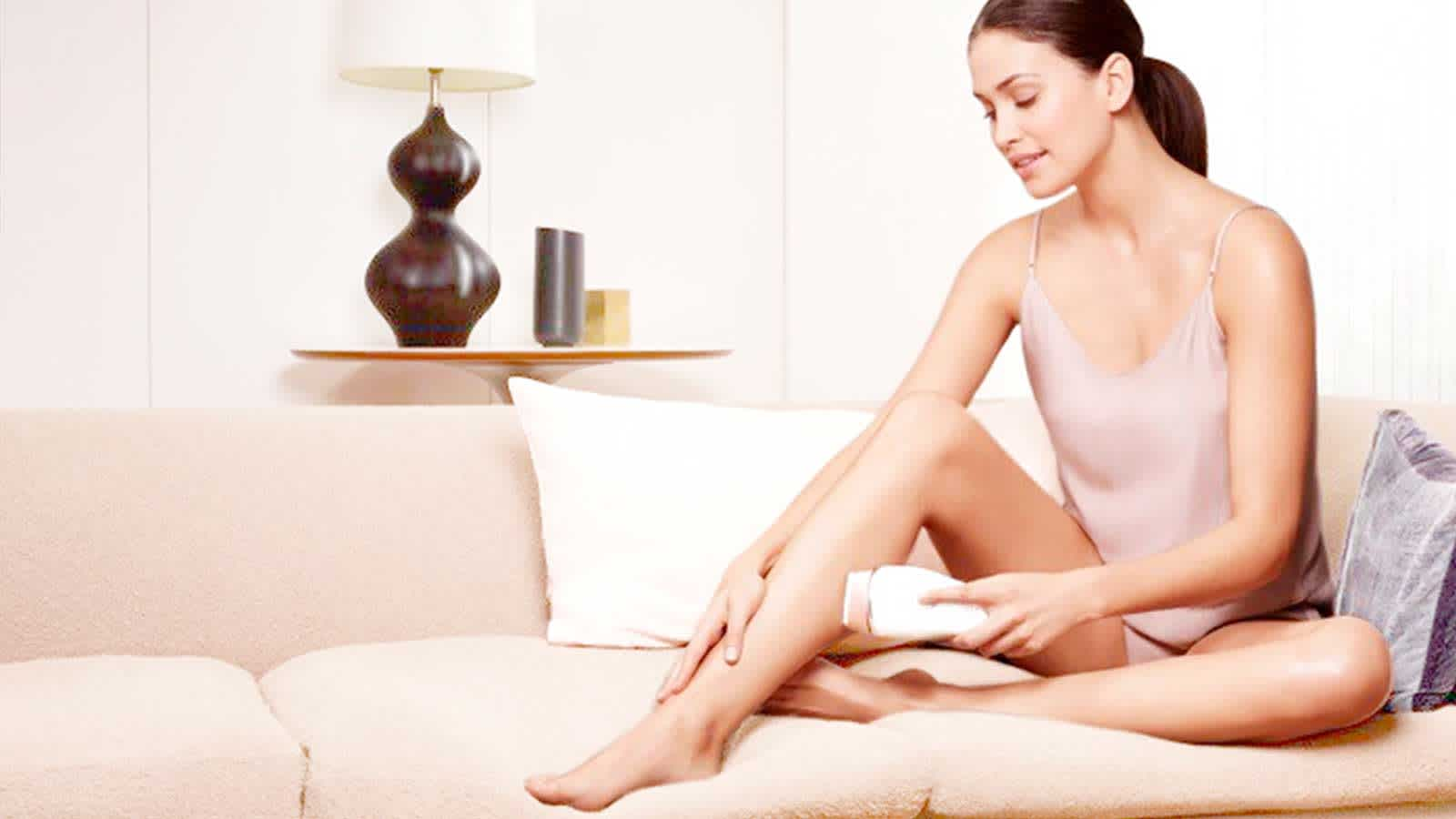 Legs Shaving with Braun Intense Pulsed Light