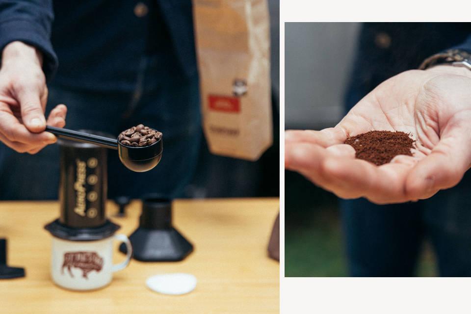Brew With Aeropress Stumptown Coffee Roasters