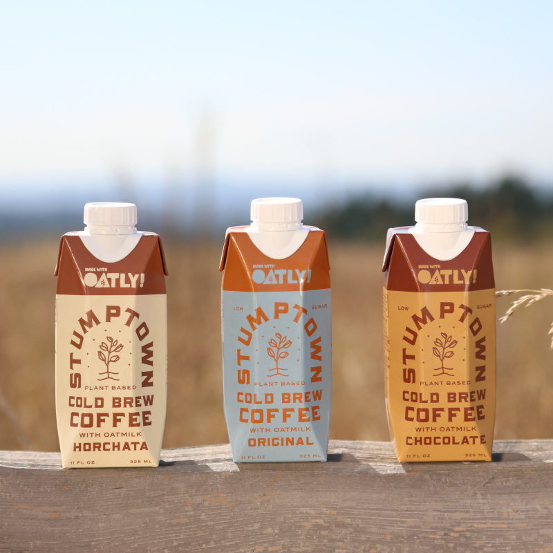 Cold Brew With Oatly Variety Pack 6 Pack Stumptown Coffee Roasters