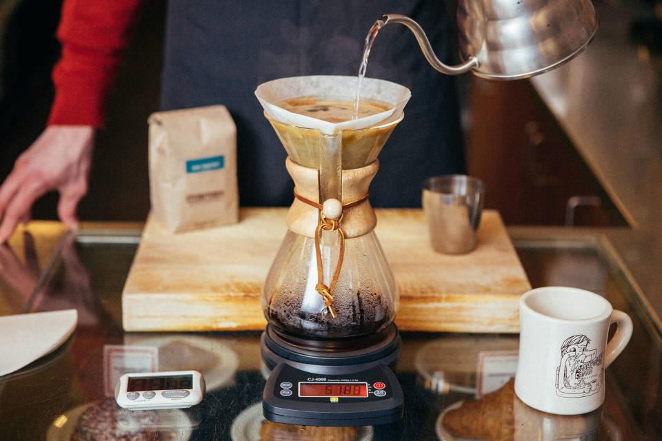 Brew With Chemex Stumptown Coffee Roasters