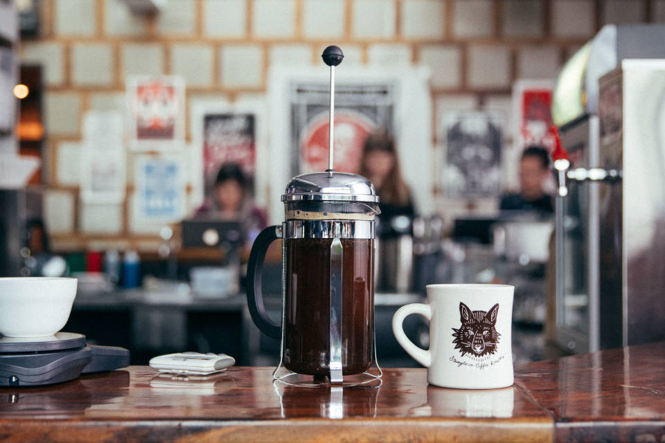 Brew With French Press Stumptown Coffee Roasters