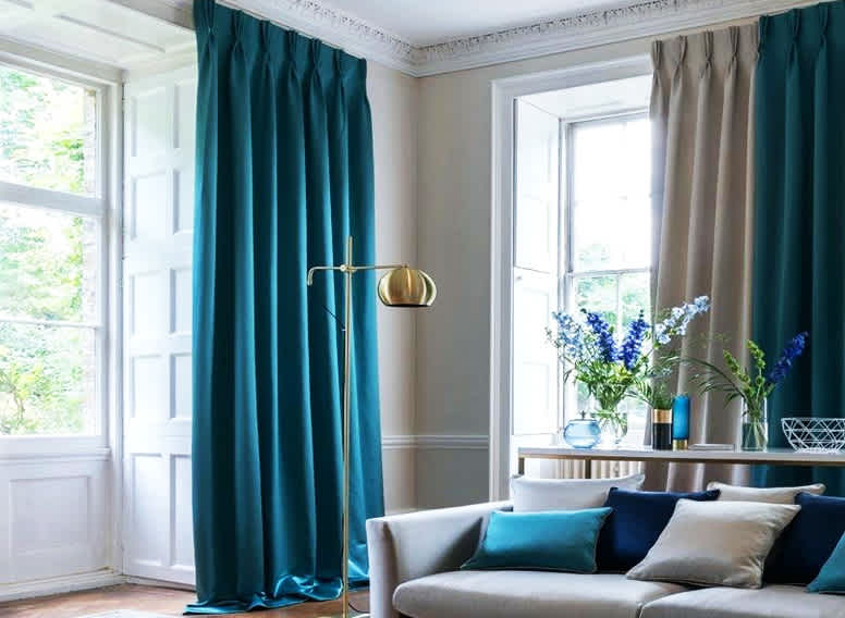 Pinch Pleated curtain