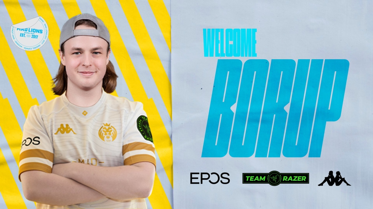 Official: MAD Lions sign b0RUP