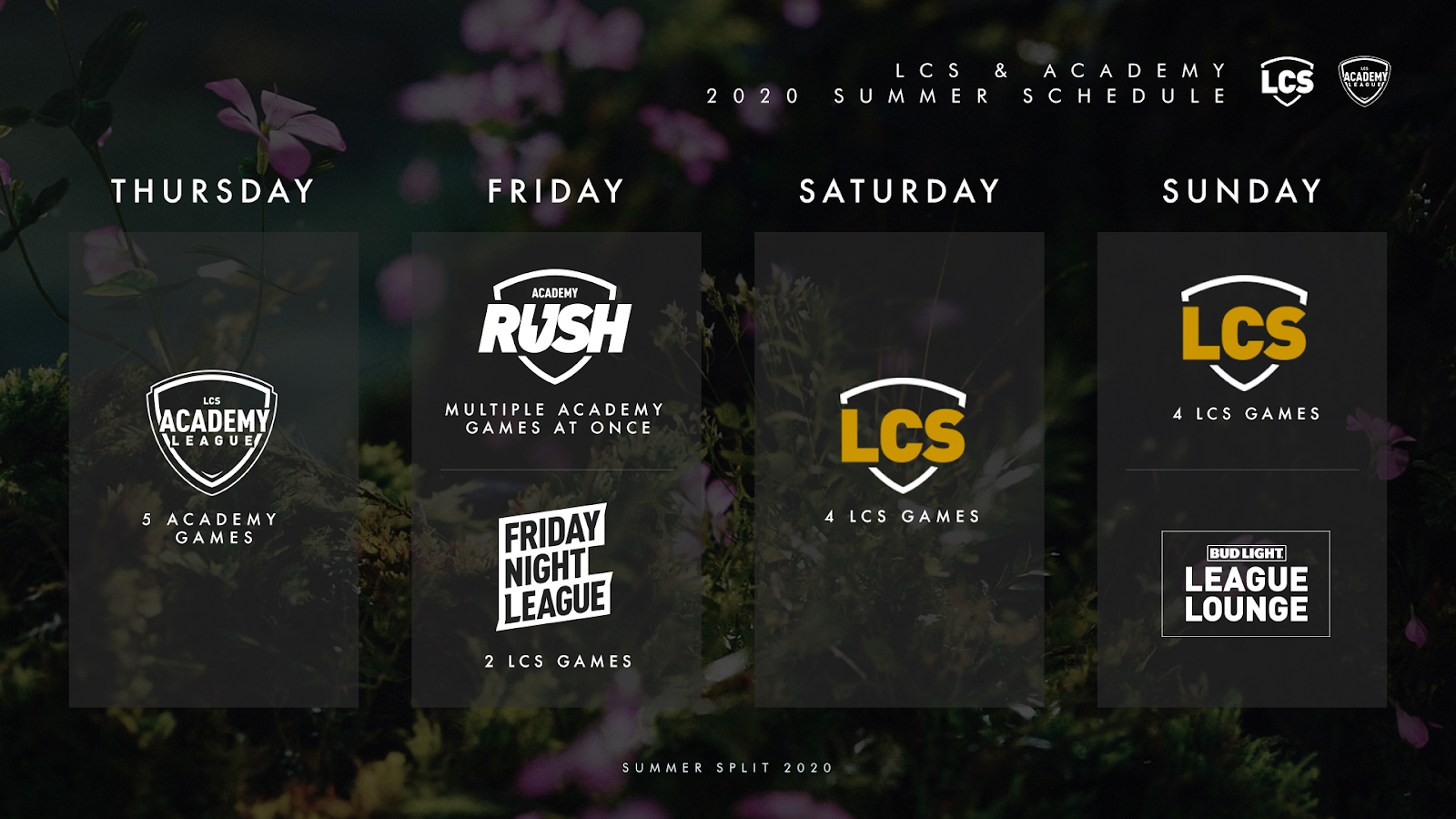 lcs sched