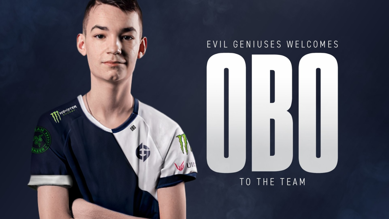 Official: oBo signs for Evil Geniuses