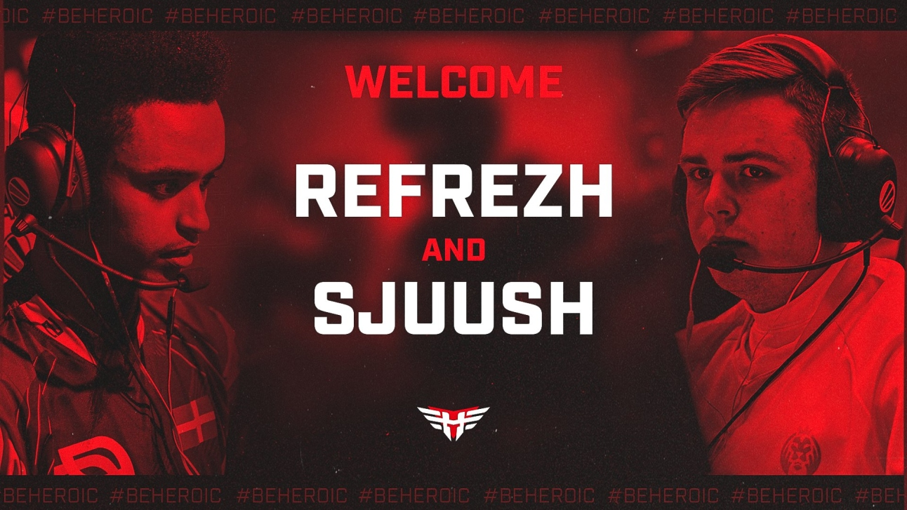 Heroic sign refrezh and sjuush from MAD Lions