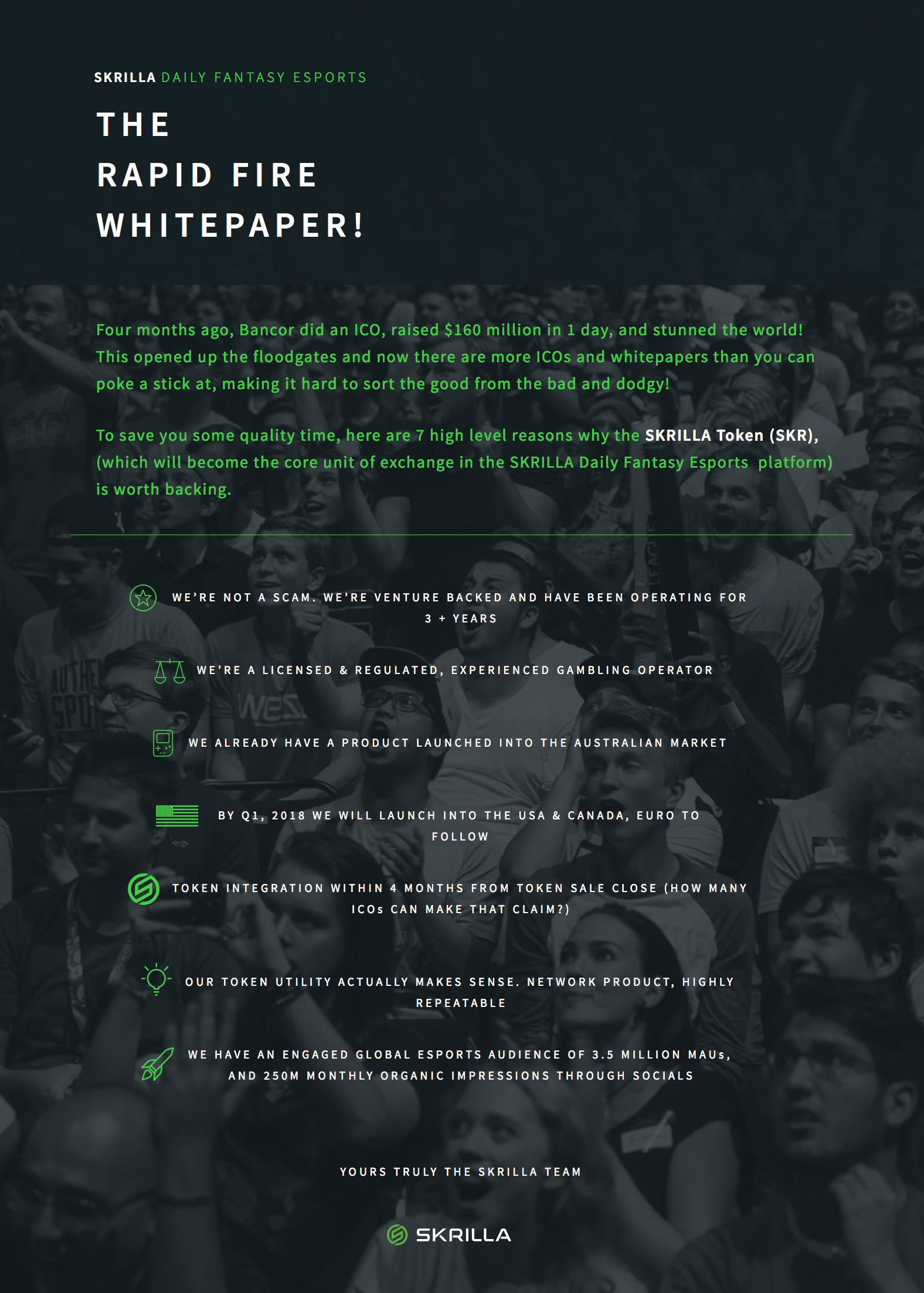 The Rapid Fire Whitepaper