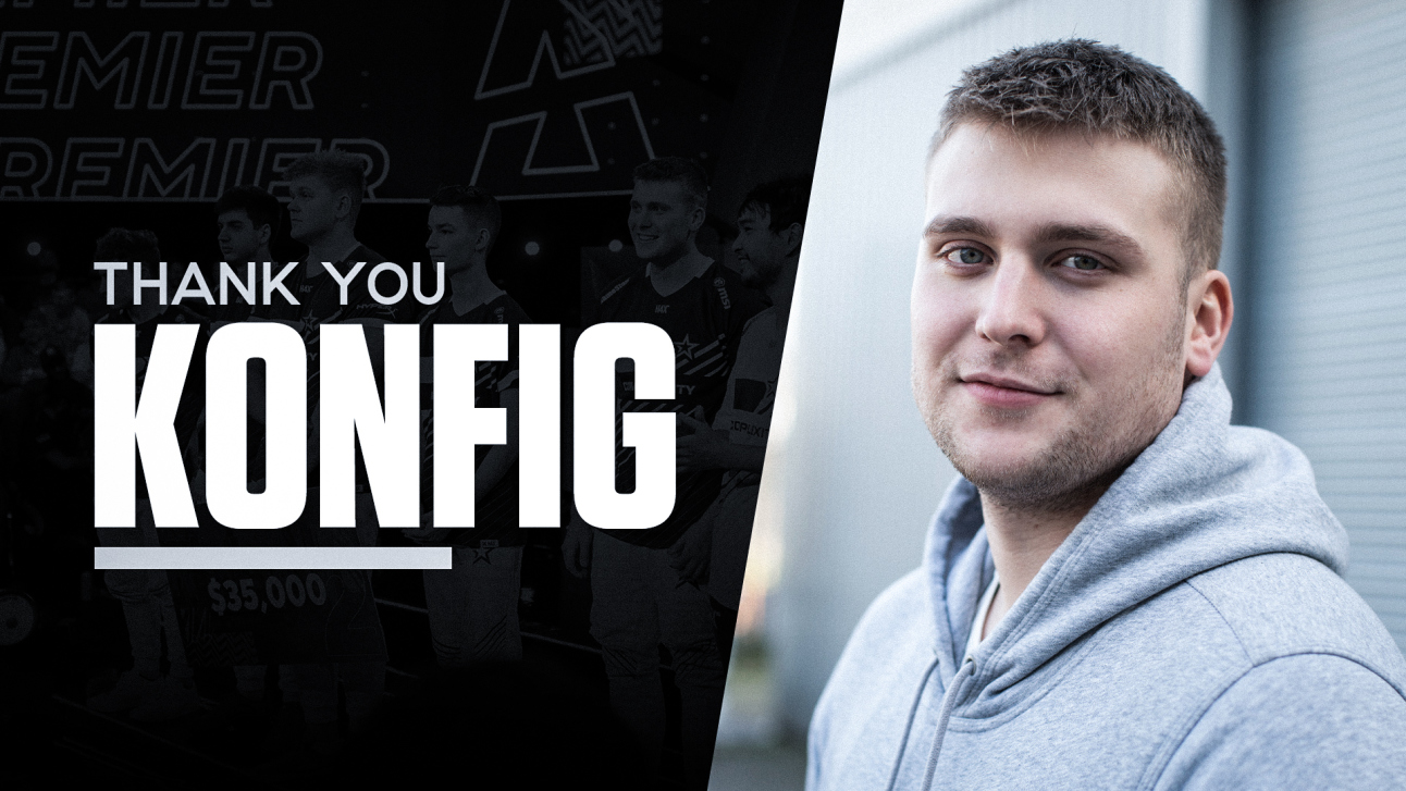 k0nfig departs Complexity, sets sights on Astralis (CS:GO)