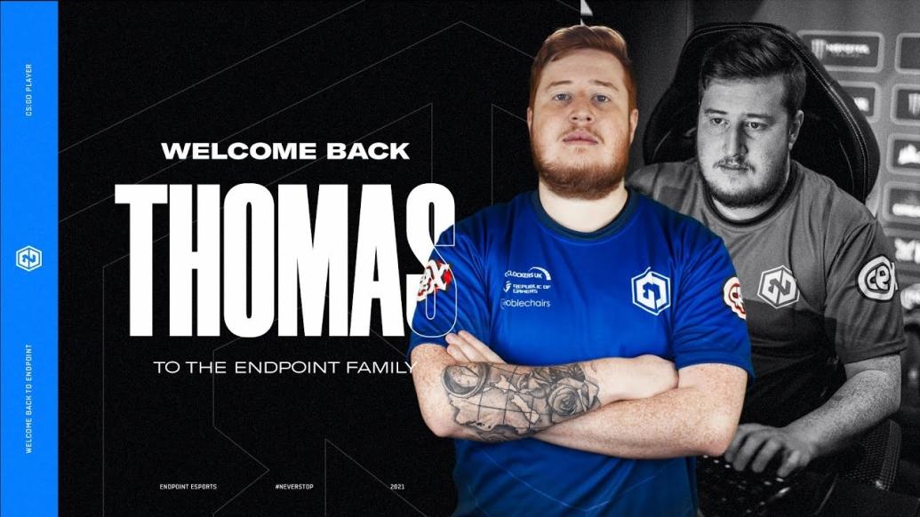 Thomas joins Endpoint(CS:GO)
