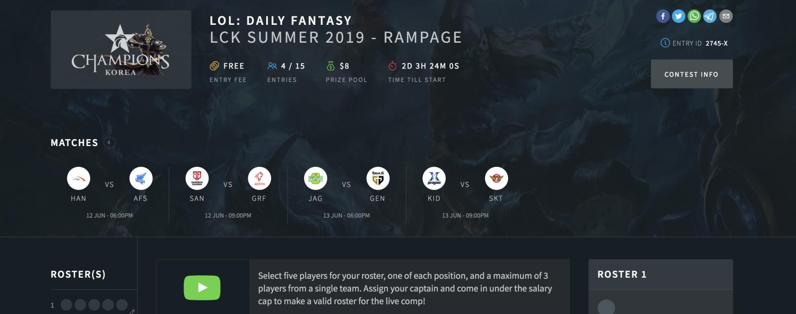 How to Play esports Daily Fantasy
