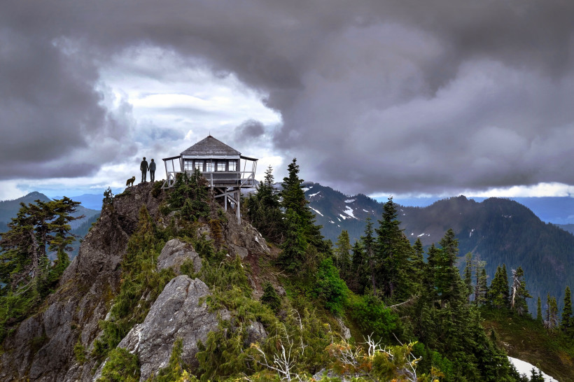 North Cascades Hiking: Park Butte Summit