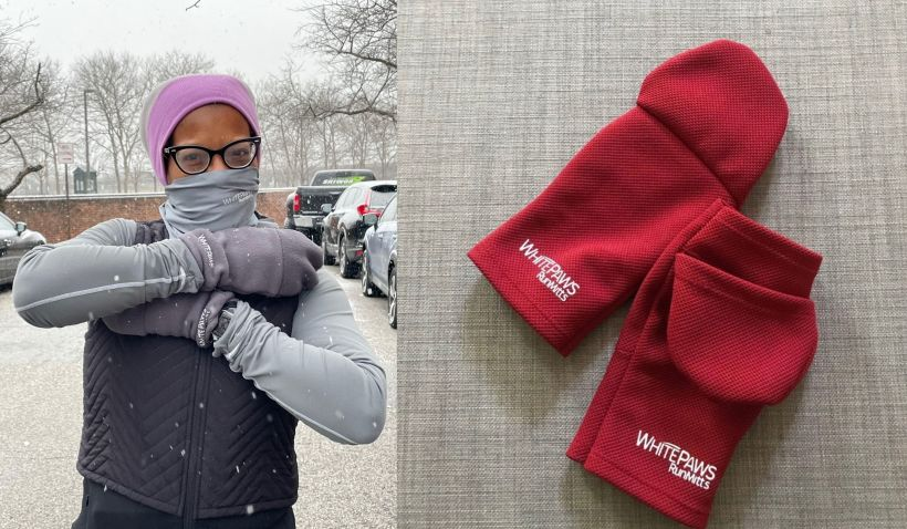 WhitePaws RunMitts makes mitten specially designed for runners.