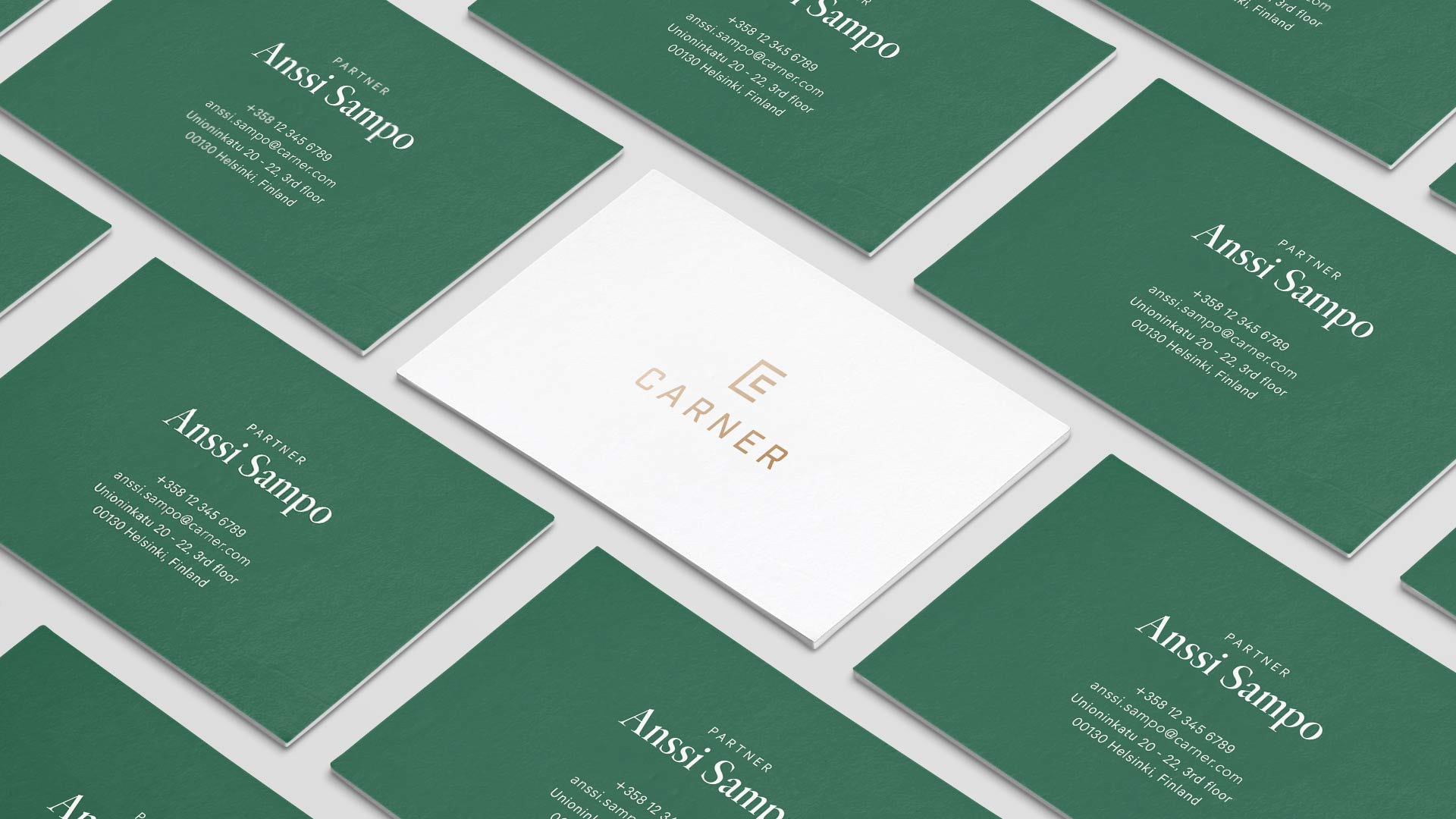 Carner Business Cards