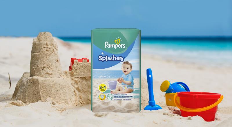 Трусики для плавания Pampers® Splashers™