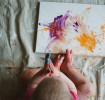 Рисуем пальцами с малышами