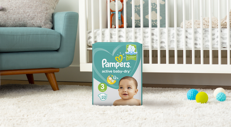 Pampers® Active Baby Dry™
