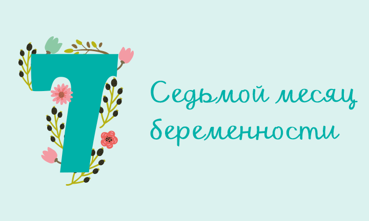 Беременность месяц за месяцем: седьмой месяц