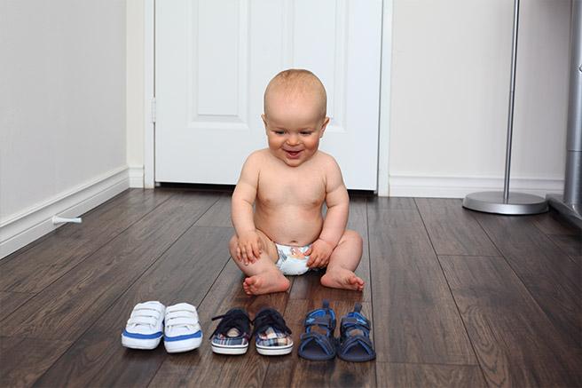 Как выбрать обувь для первых шагов малыша