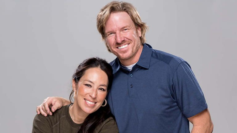 Chip and Joanna Gaines Magnolia Hollywood Reporter Announcement