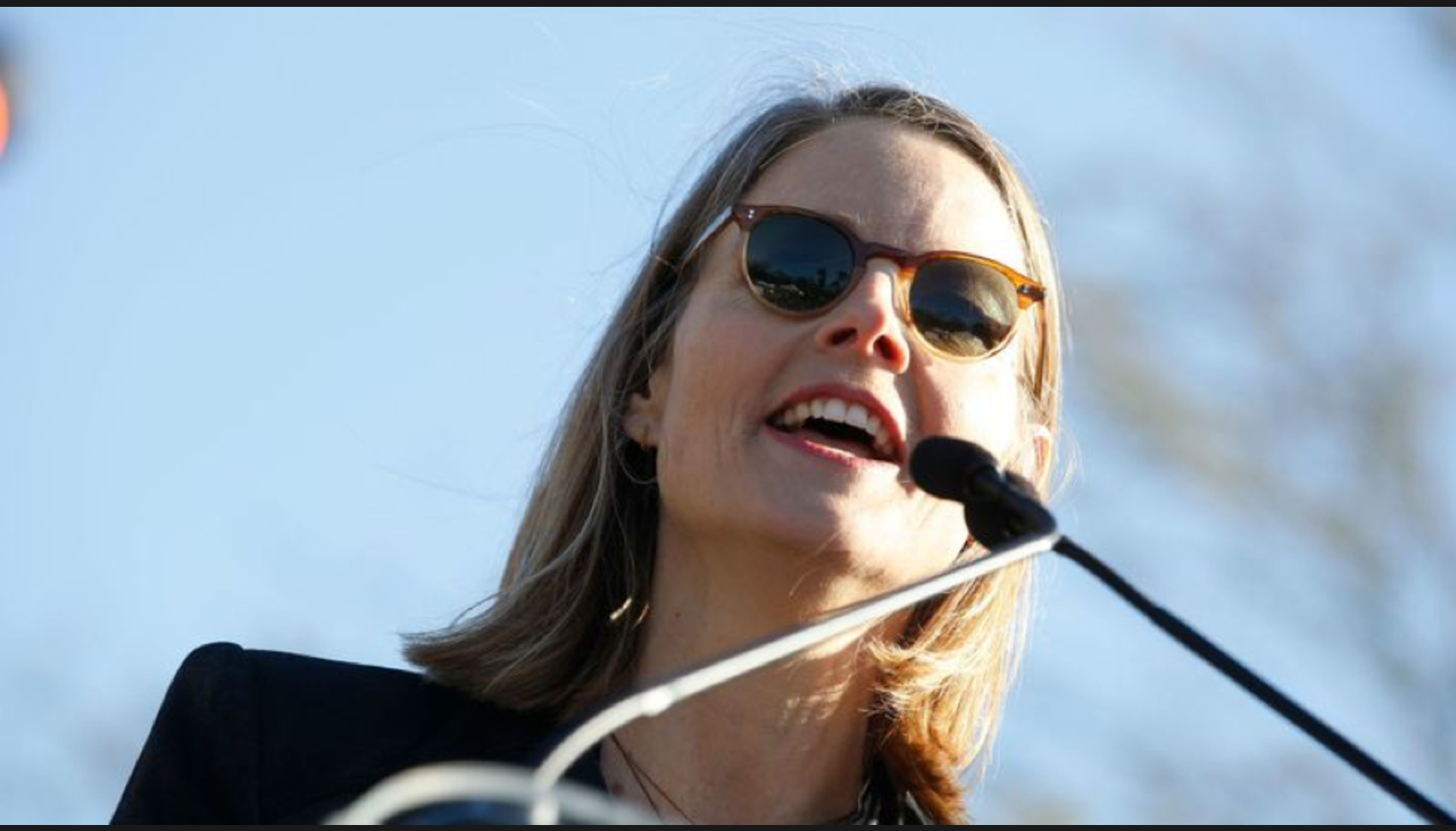 United Voices Rally Jodie Foster