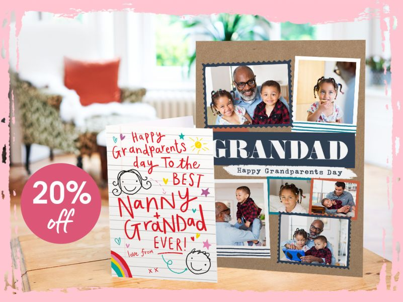 20% off in Honour of Grandparents' Day!