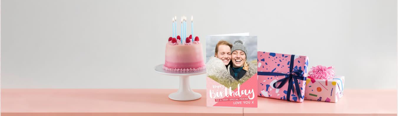 Personalised Birthday Cards Photo Upload Birthday Cards