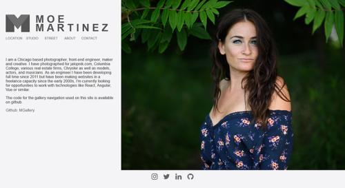 screenshot of moemartinez.com