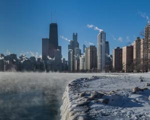 thumbnail for Chicago Skyline Winter