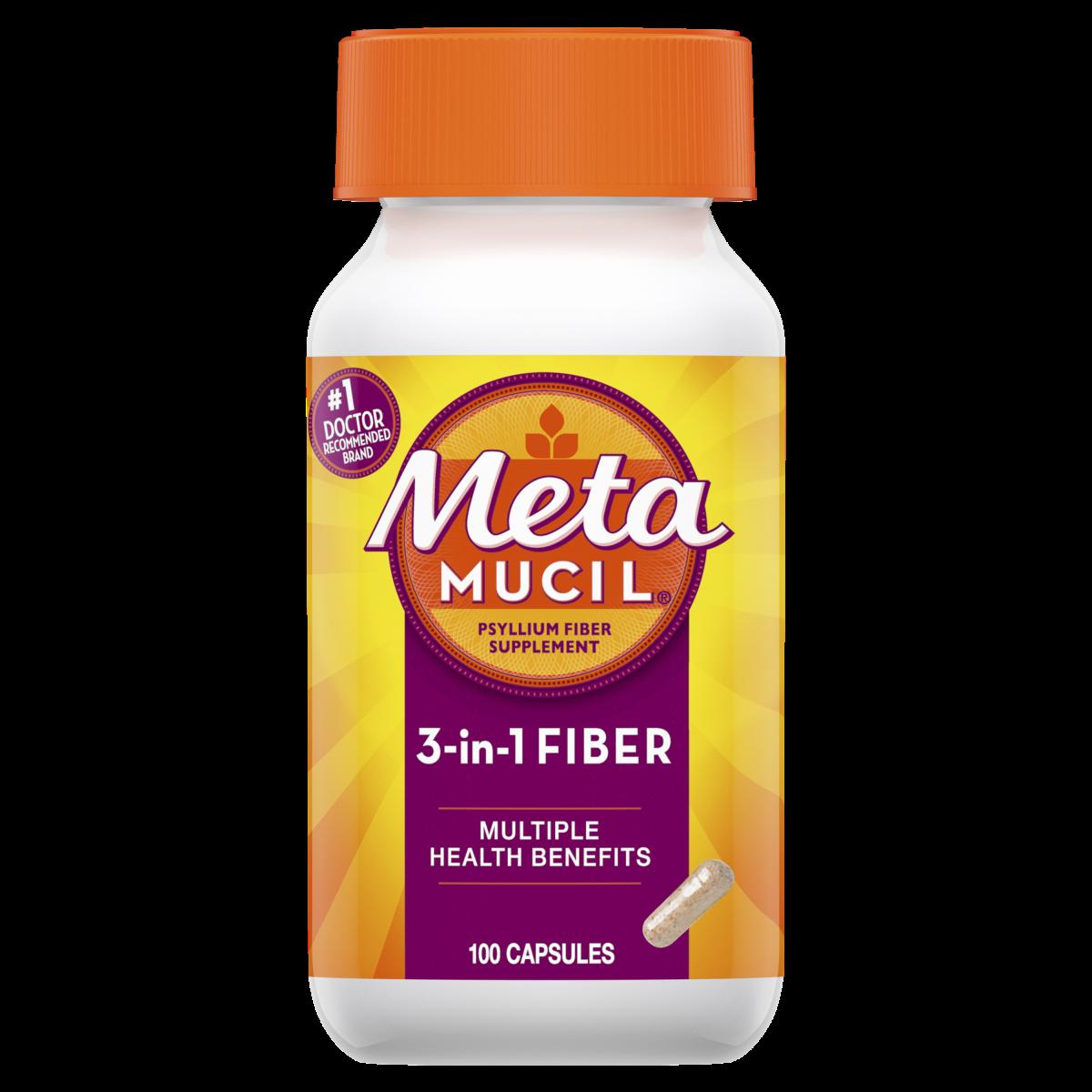 Dietary Fiber Supplement FAQ - What is Metamucil? | Metamucil