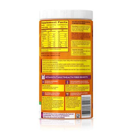 Metamucil Nutrition Facts - NutritionWalls