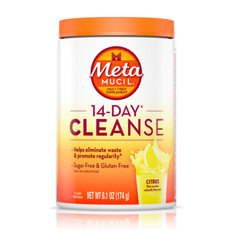 Metamucil 14 Day Cleanse Sugar Free Fiber Powder Metamucil