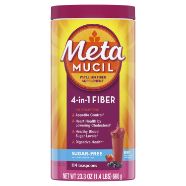 Metamucil Sugar-Free Berry Smooth Powder