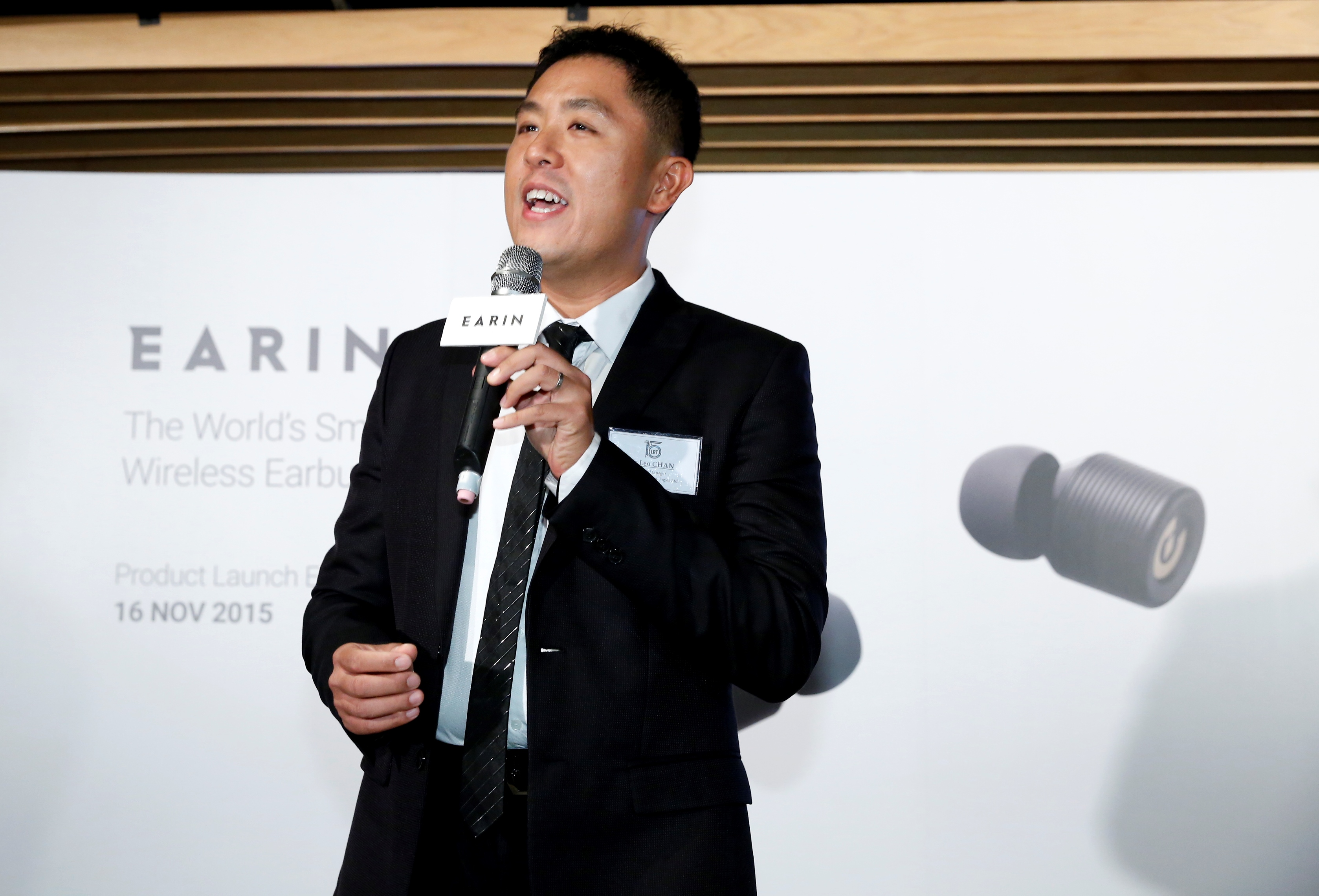 Mr Leo Chan, General Manager, Leader Radio Technologies Ltd.