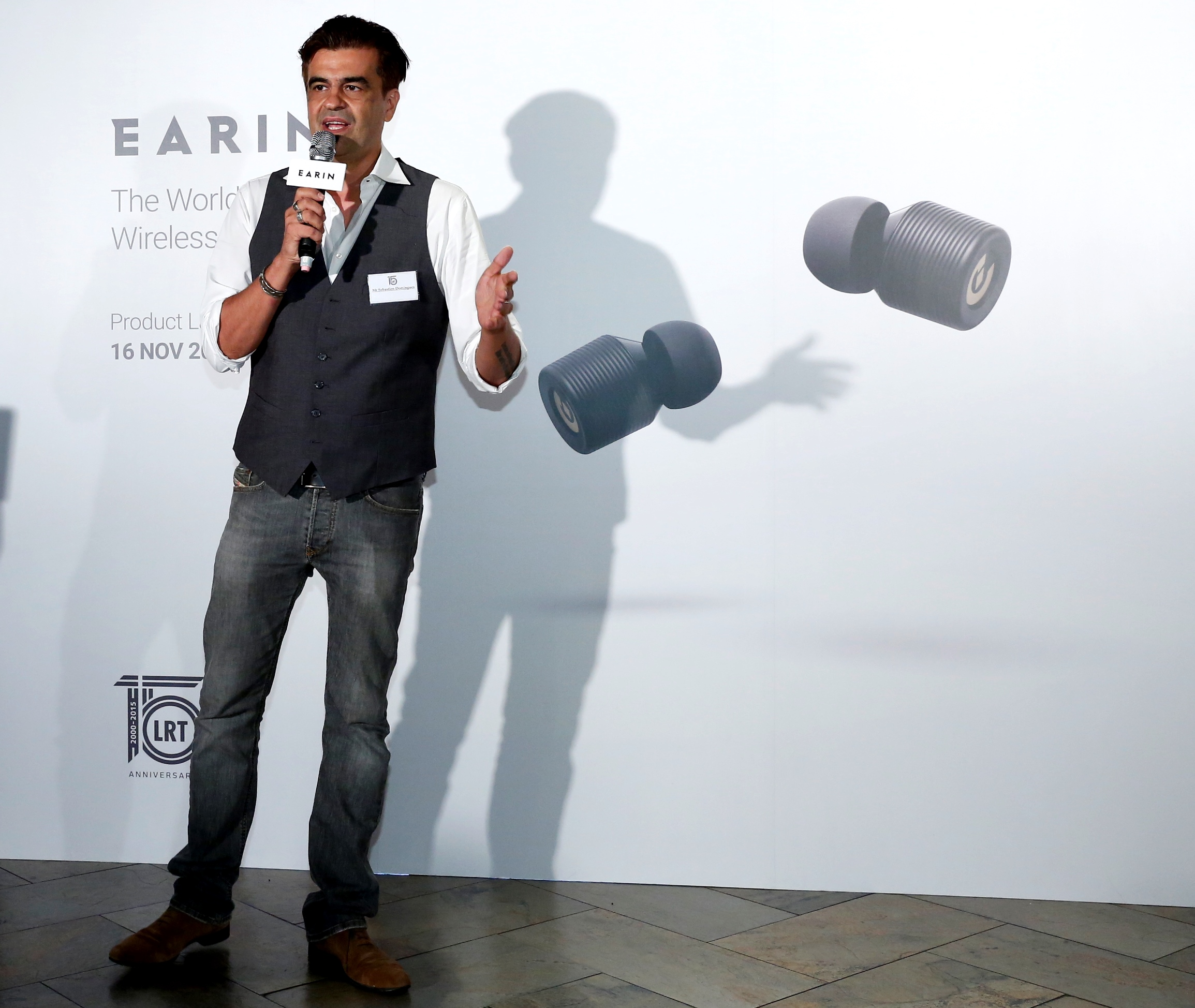 Mr Sebastien Domingues, Markeing Director,Earin