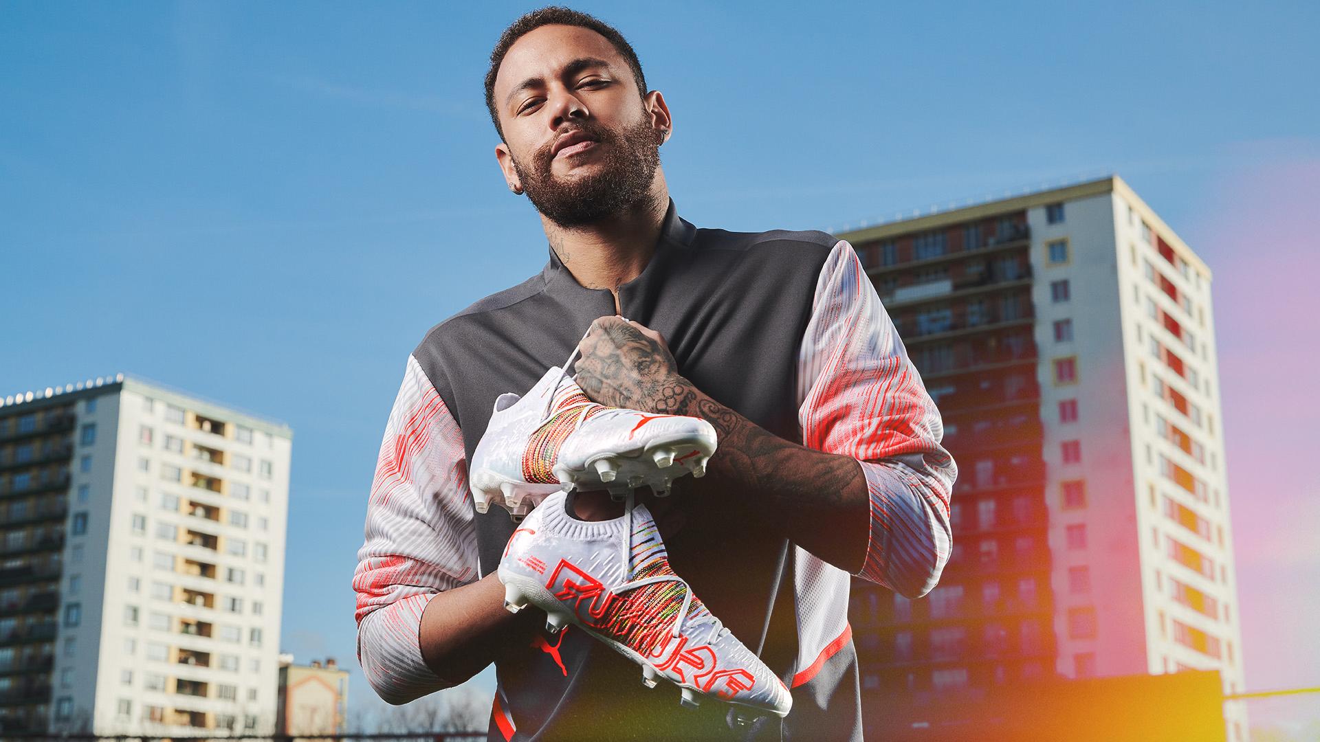 Neymar Jr: The new Puma Future Z Spectra boots   Neymar Jr.