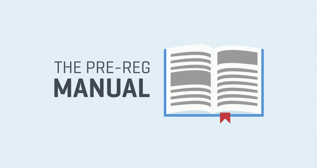the-pre-reg-manual