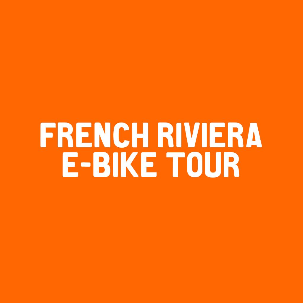 French Riviera E - Bike tour