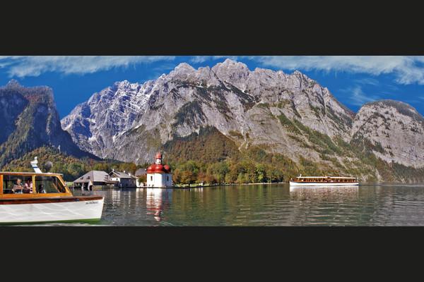Bavarian Mountains & Salt Mines Tour