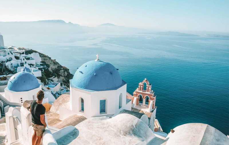 Mykonos & Santorini Island Escape
