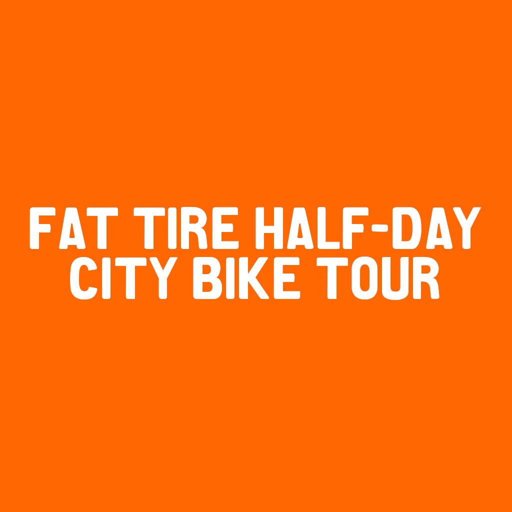 Fat Tire Half-Day City Bike Tour