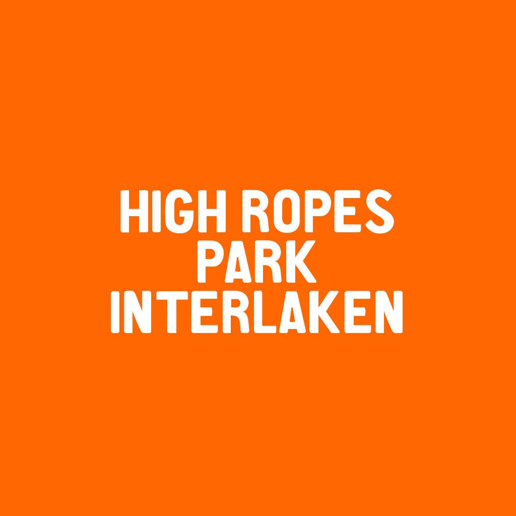 High Ropes Park Interlaken