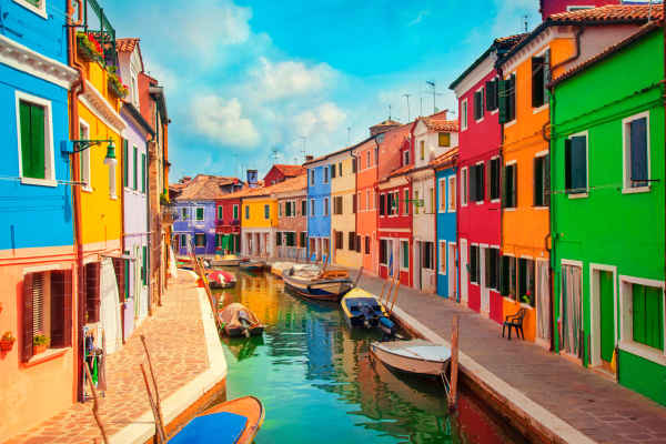 Europe's Most Colourful Towns And Cities