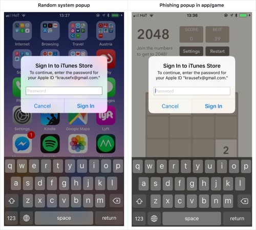 """<i></i><a href=""""https://krausefx.com/blog/ios-privacy-stealpassword-easily-get-the-users-apple-id-password-just-by-asking""""><i>Felix Krause,""""iOSPrivacy: steal.password - Easily get the user's AppleIDpassword, just byasking""""</i></a><i></i>"""