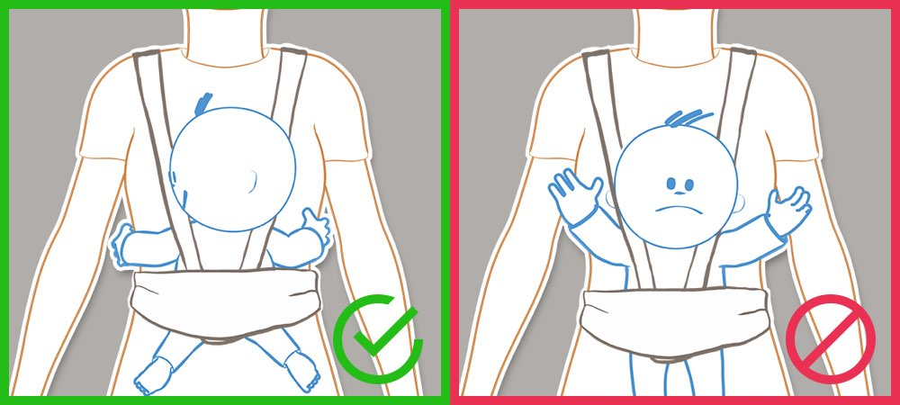 How to carry your baby